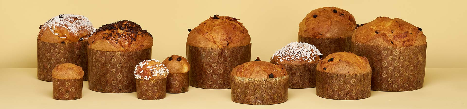 Novacart panettone paper baking molds