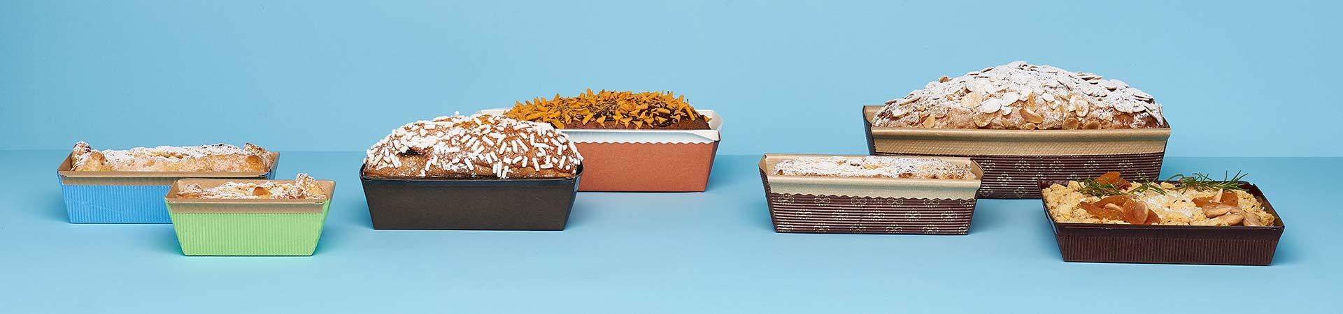 Novacart plum cake baking molds