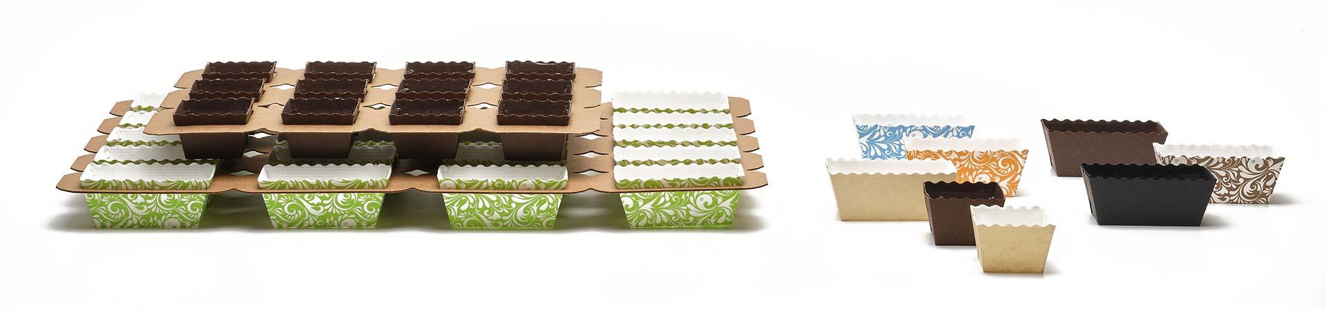 Novacart Easy Bake paper molds