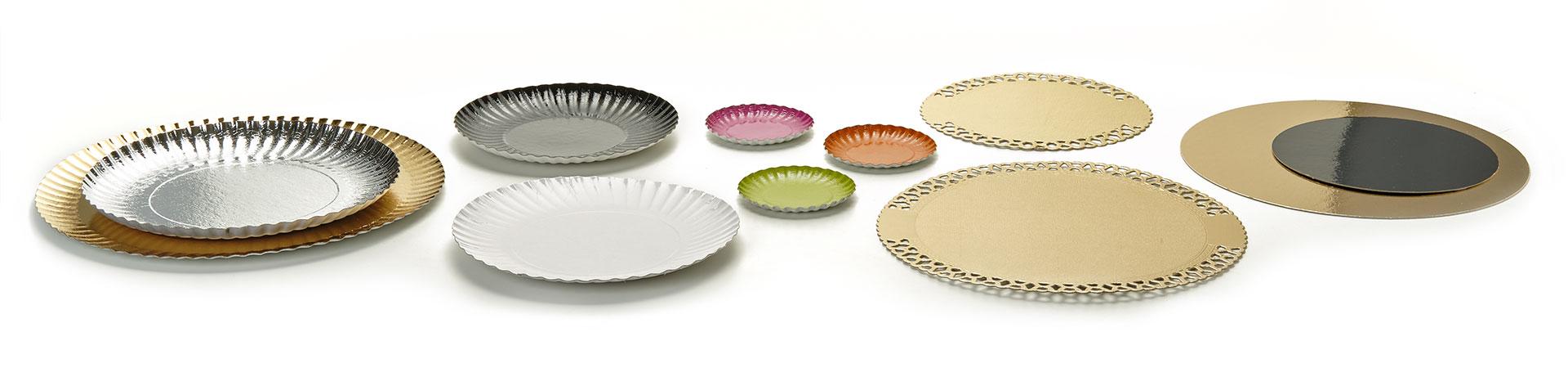Novacart cardboard plates and disks