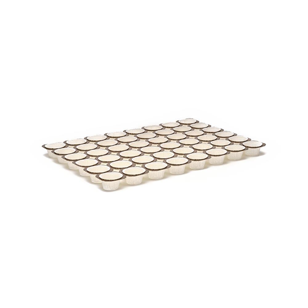 Teglie Muffins 1 Oz 6x8 Cardboard Muffin Tray Novacart
