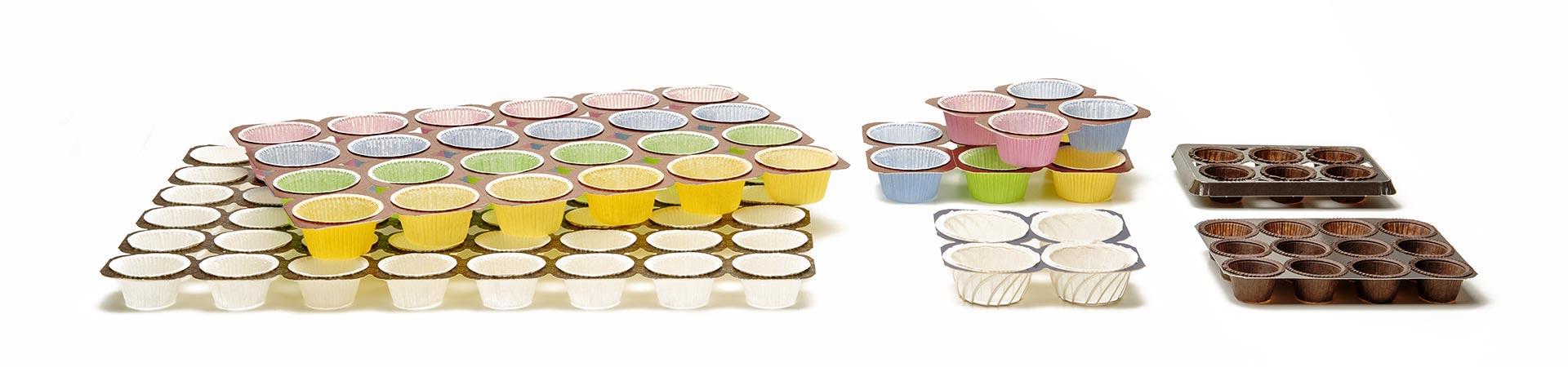 Novacart NTS cardboard muffin trays