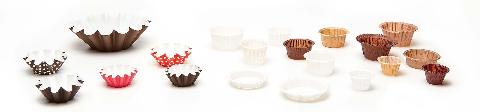 Novacart PBA series paper baking cups