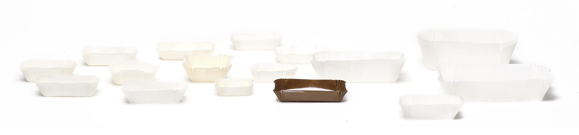 Novacart Rectangular Baking Cups Series