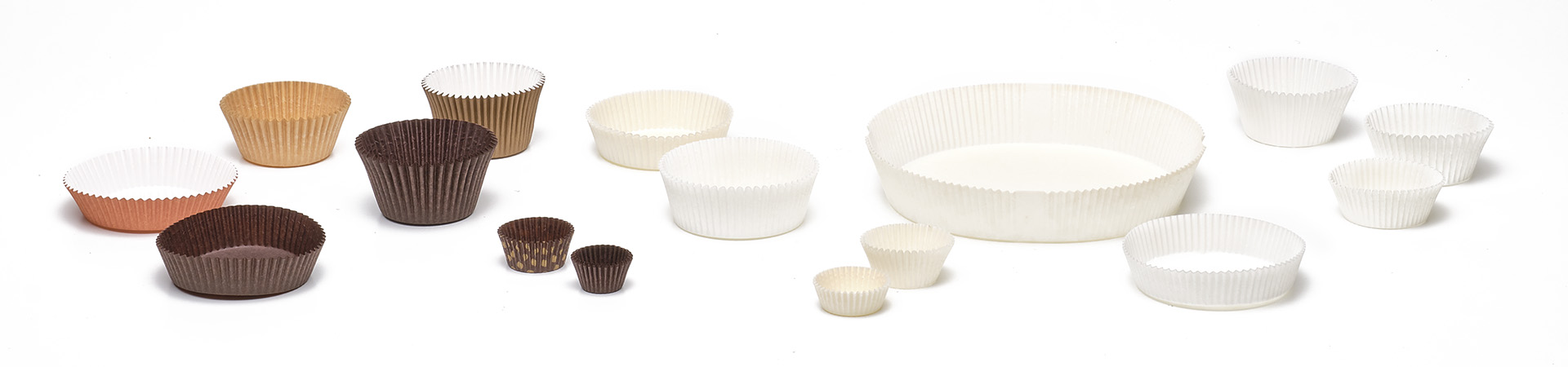 Novacart Round Cup series paper baking cups