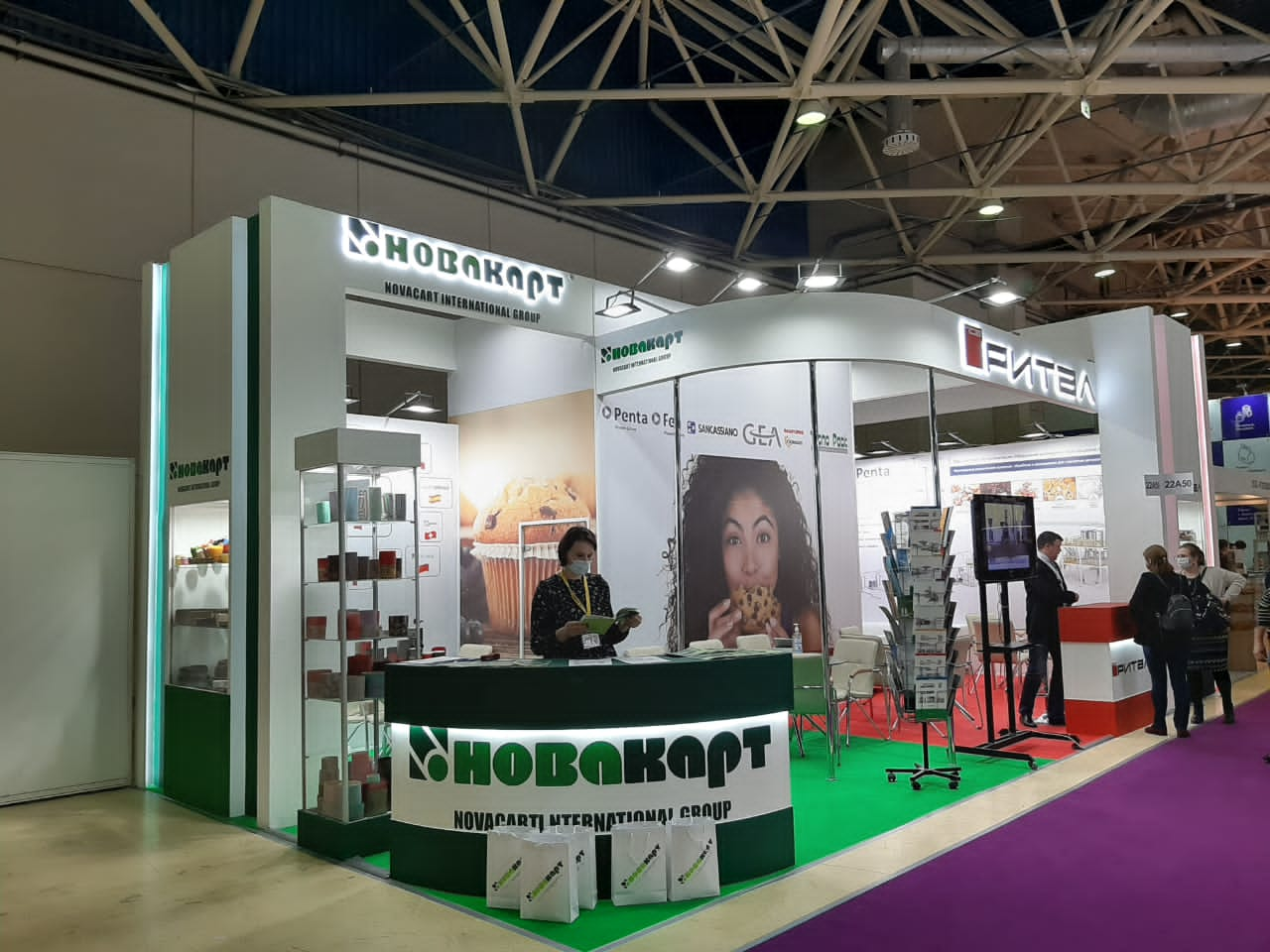 Novacart Modern Bakery Moscow stand 06