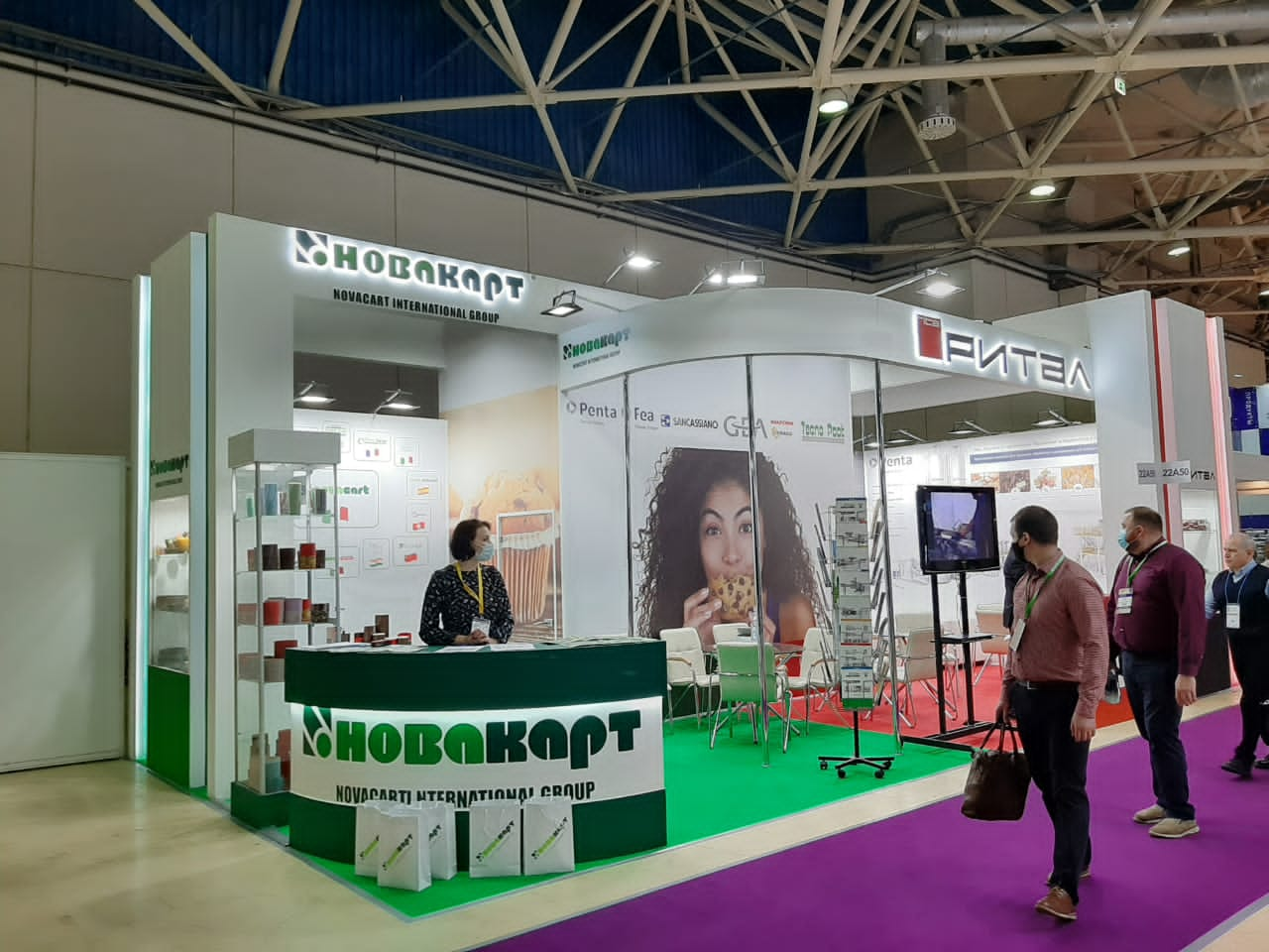 Novacart Modern Bakery Moscow stand 03