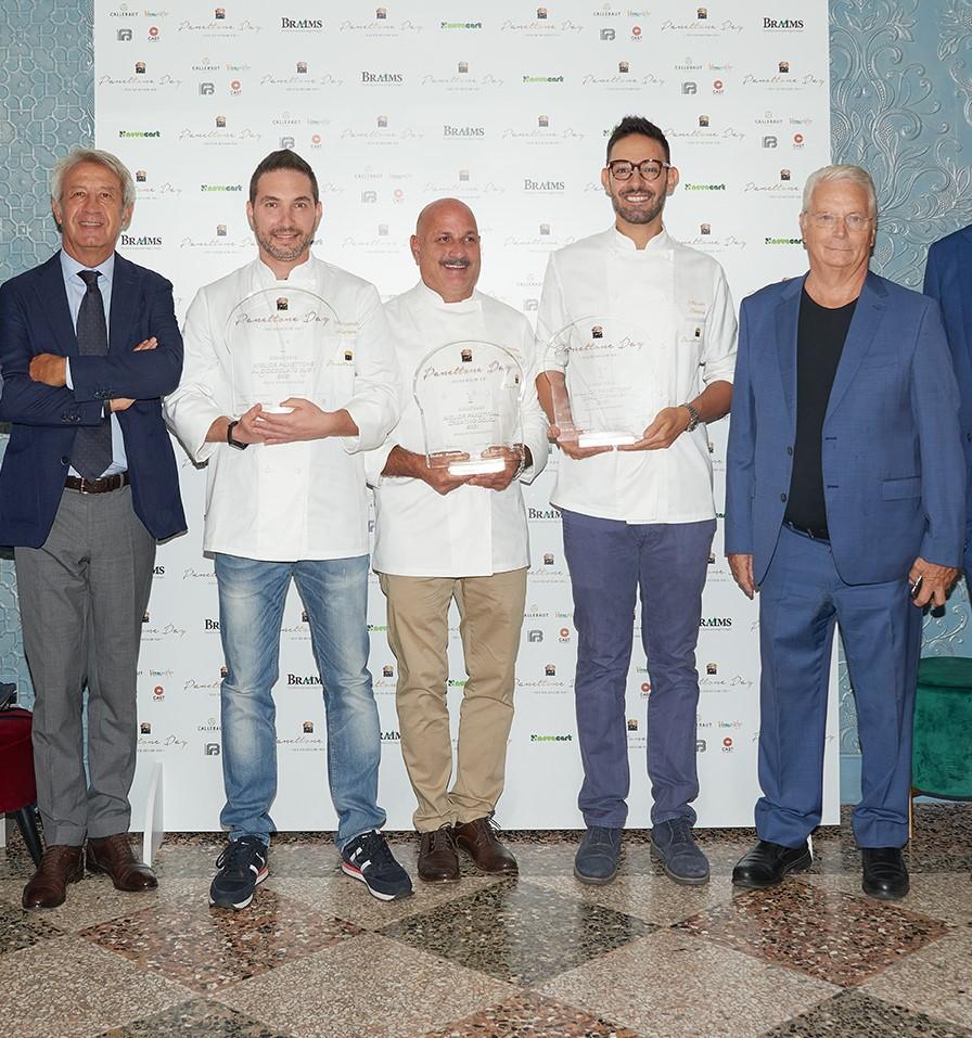 Panettone Day winners with Iginio Massari