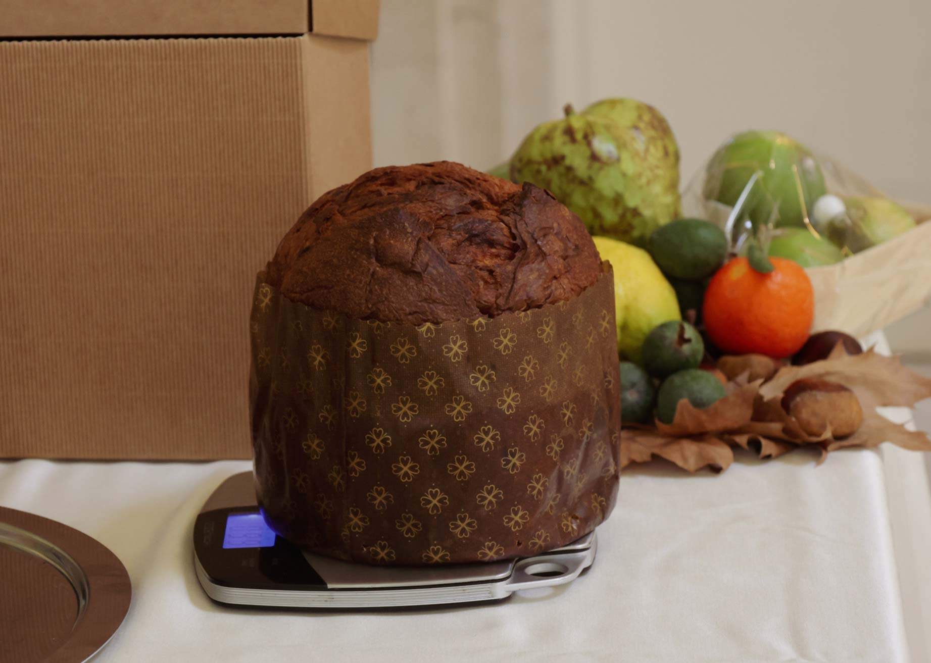 A Milanese Panettone at Panettone World Cup in Novacart baking mold