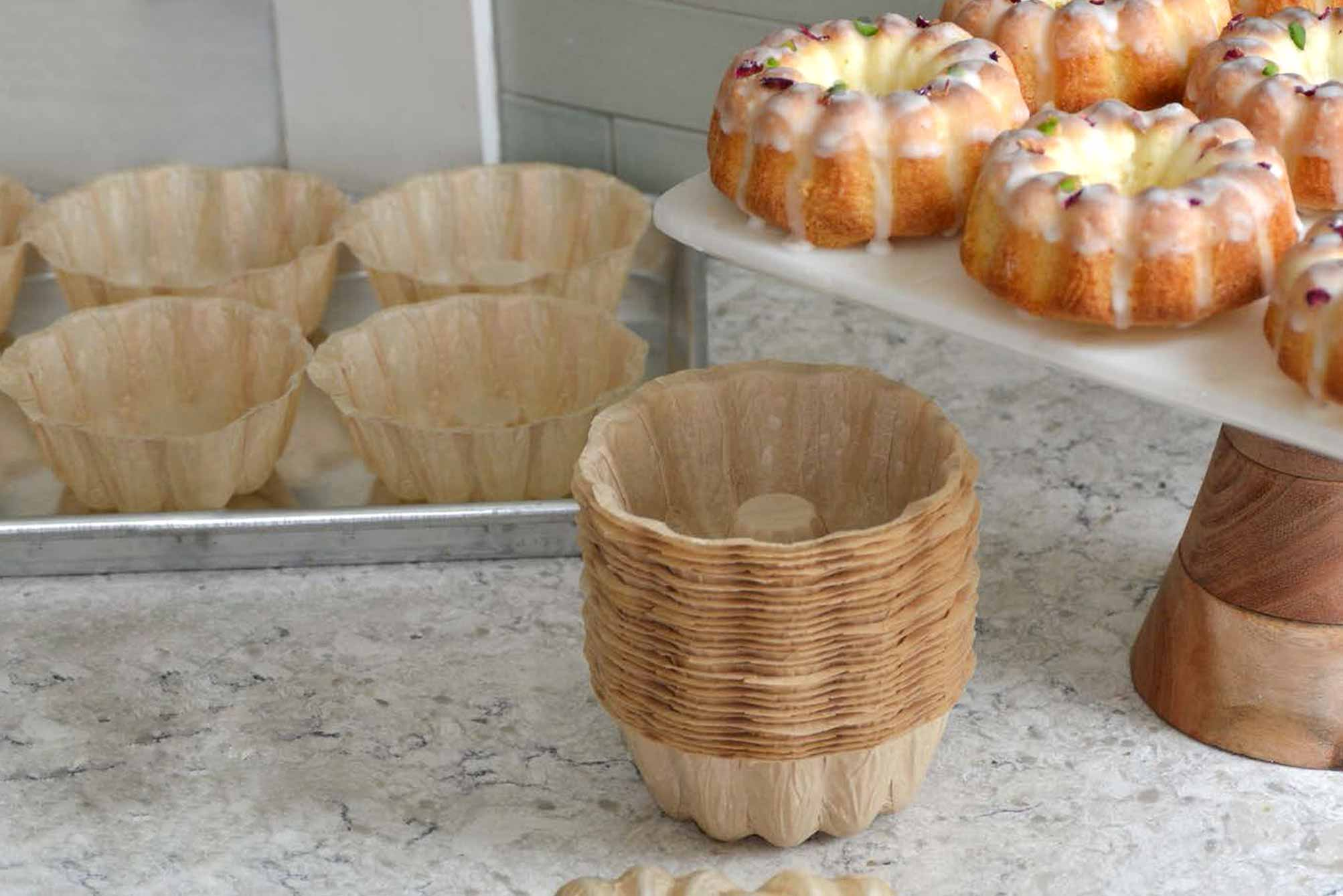 Novacart Mini Bundt baking molds