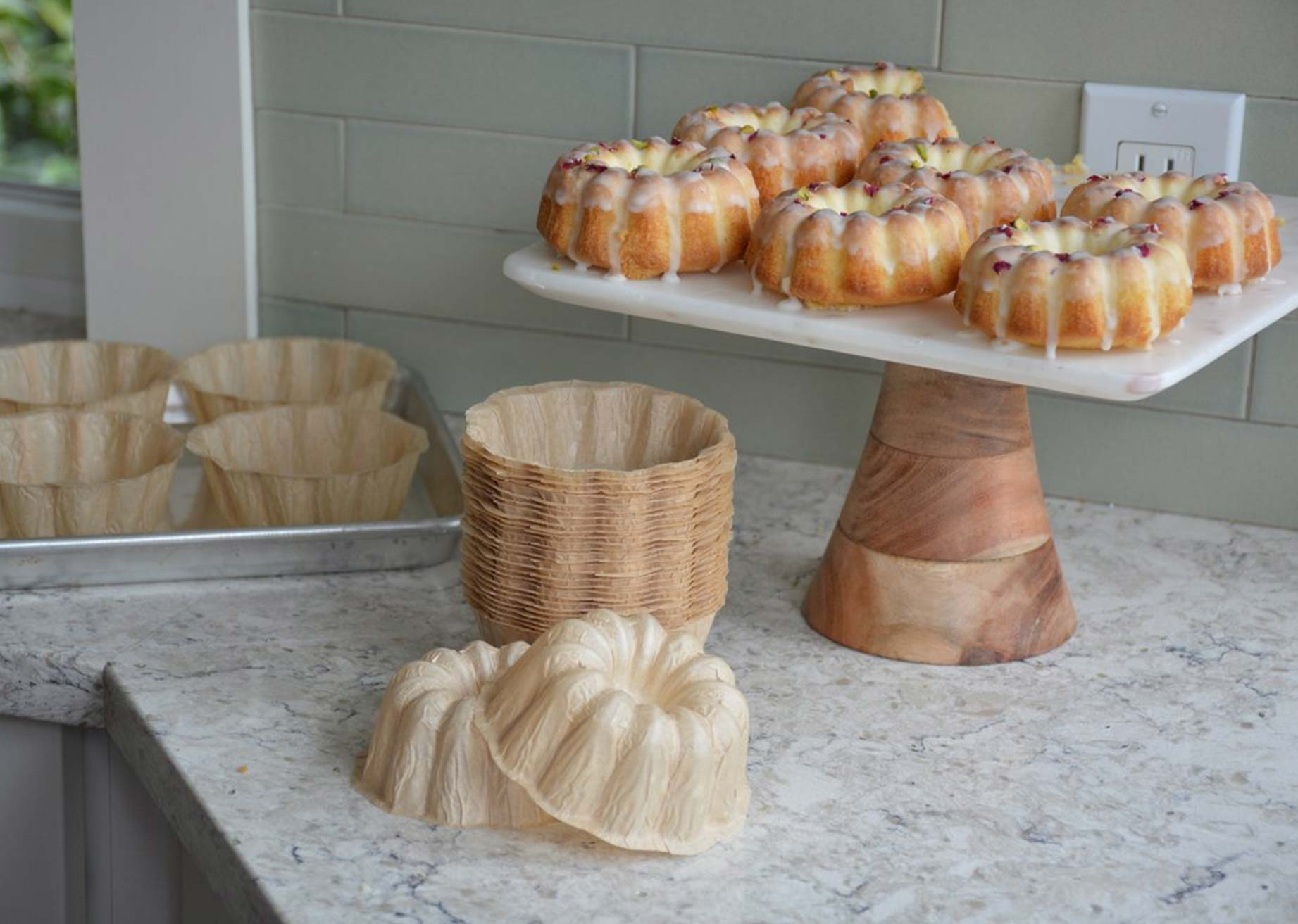 Novacart Bundt Cakes and baking molds