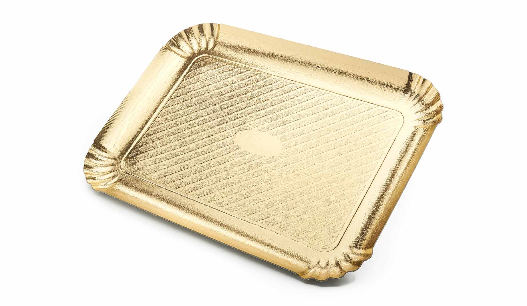 Novacart golden cardboard tray