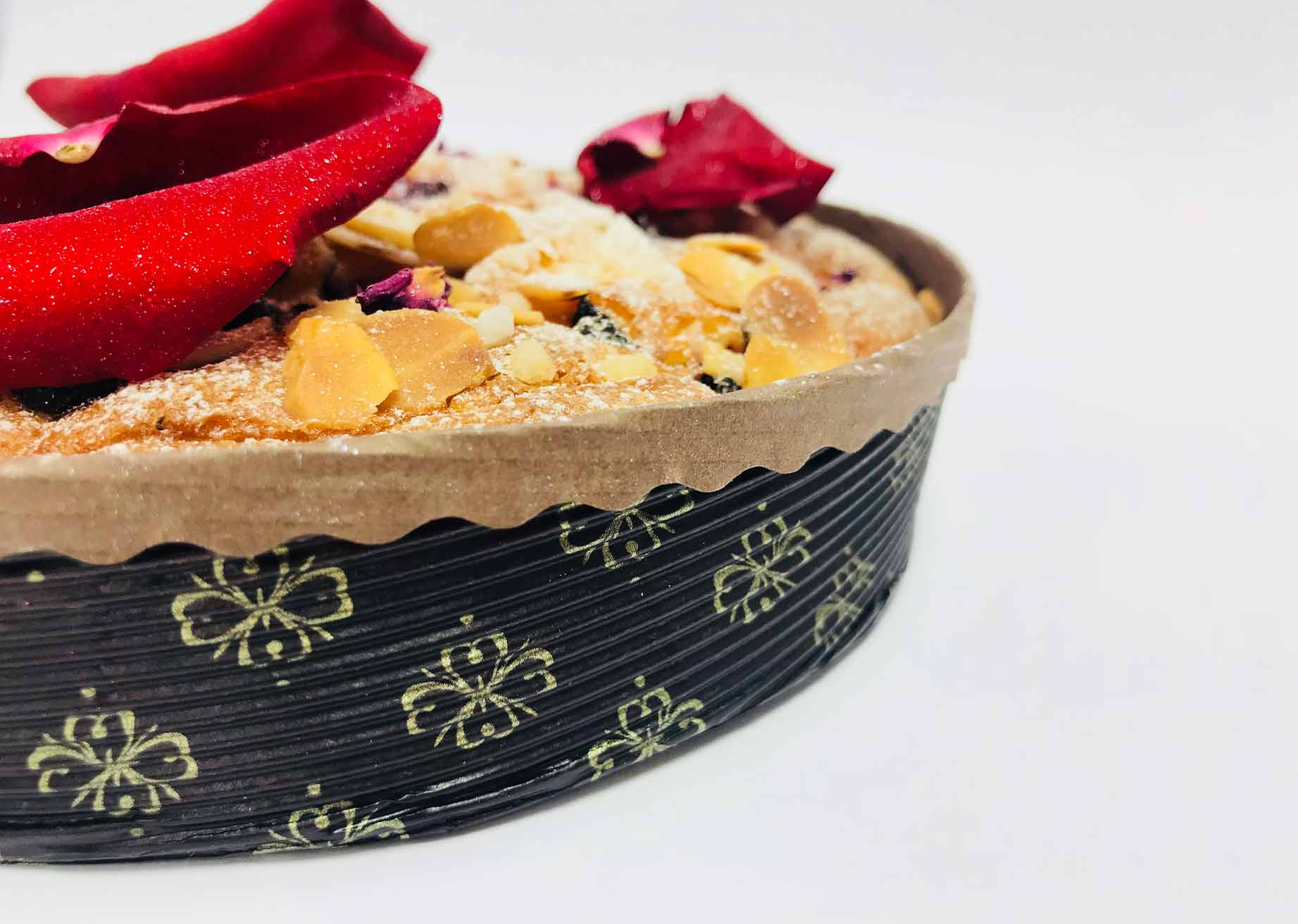 MBB Novacart baking mold and almond tart