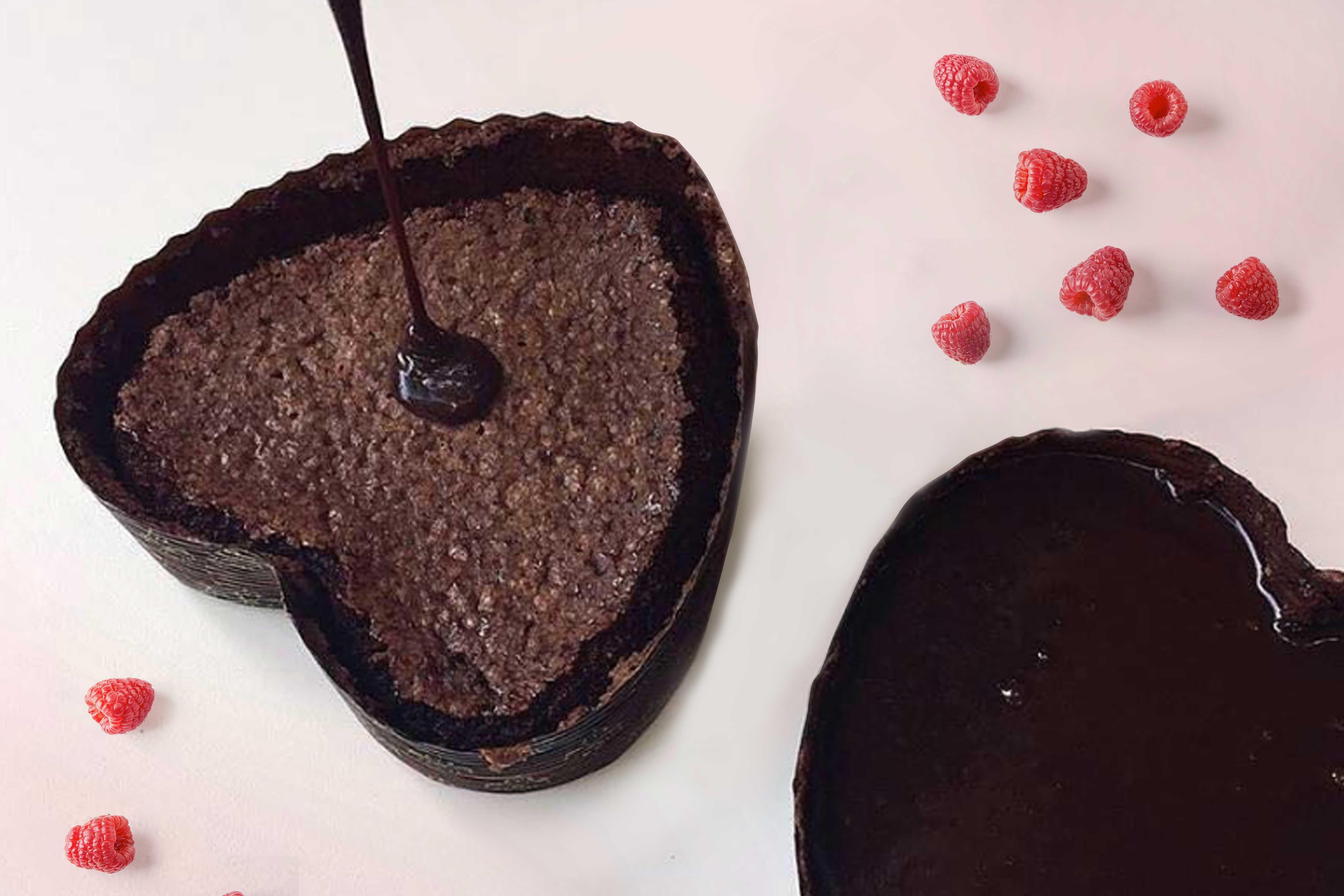 Ricetta Torta Al Cioccolato A Forma Di Cuore.Ricetta Per Torta Caprese A Forma Di Cuore Per San Valentino Novacart Italia