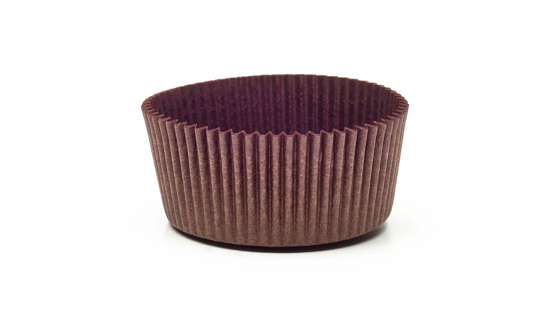 Novacart brown display paper cup