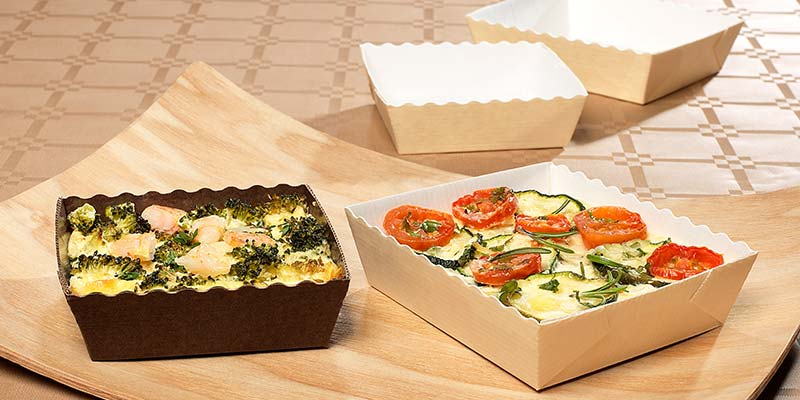 Nordia paper products for food use