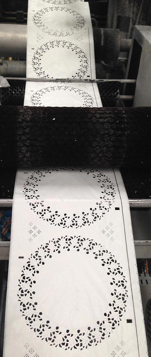Nordia production de dentelles en papier