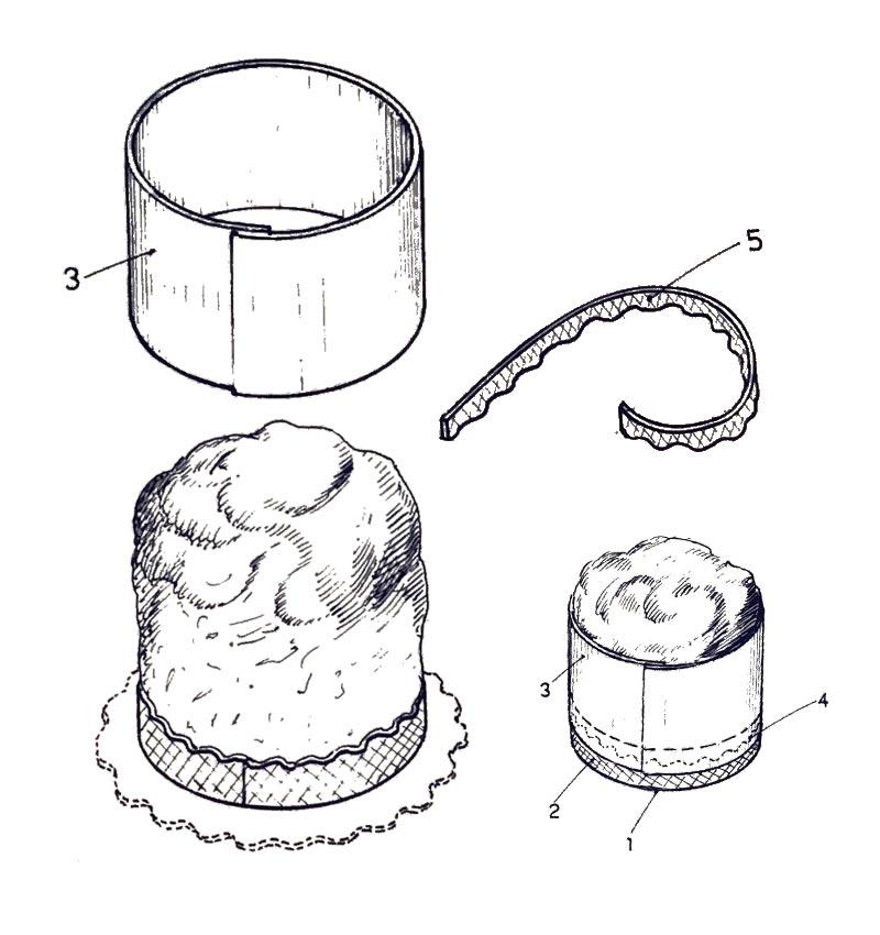 Novacart brevetto forme per panettoni