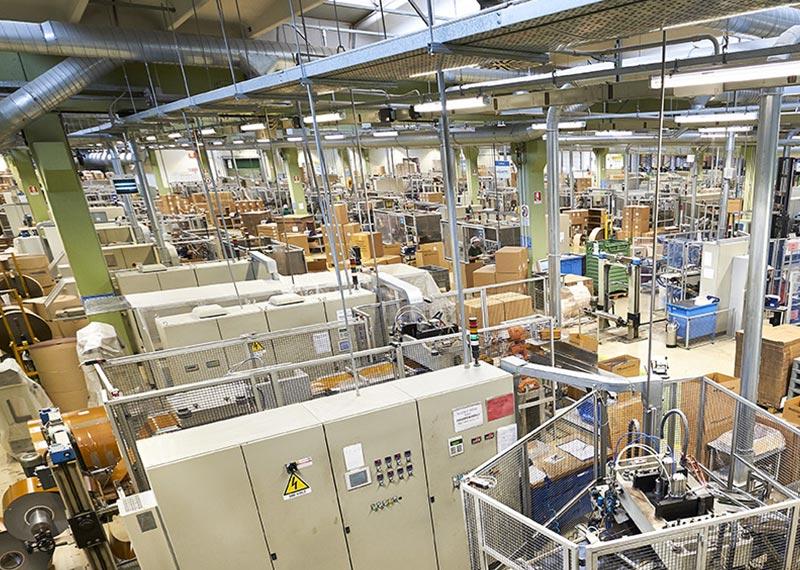 Novacart impianto di produzione