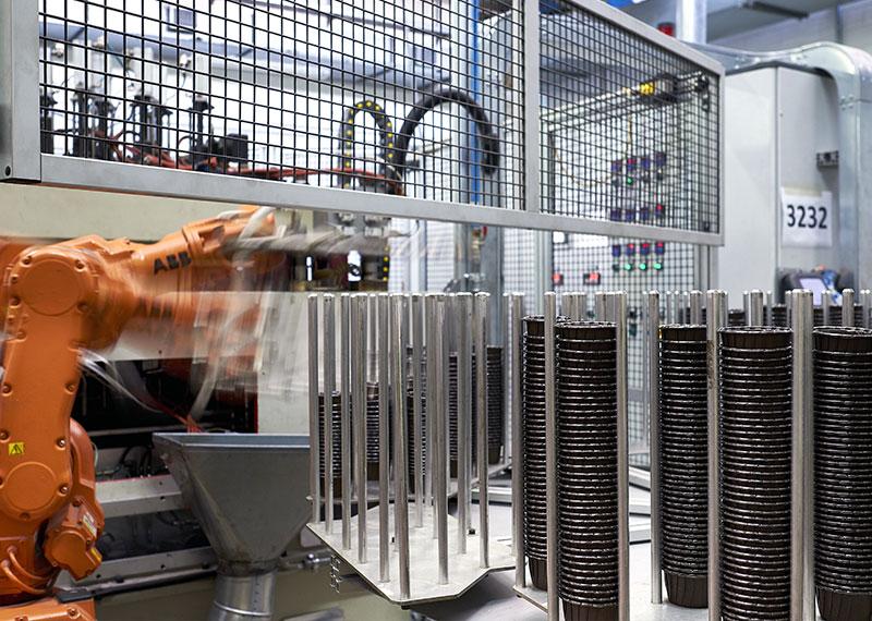 Paper Tech production site