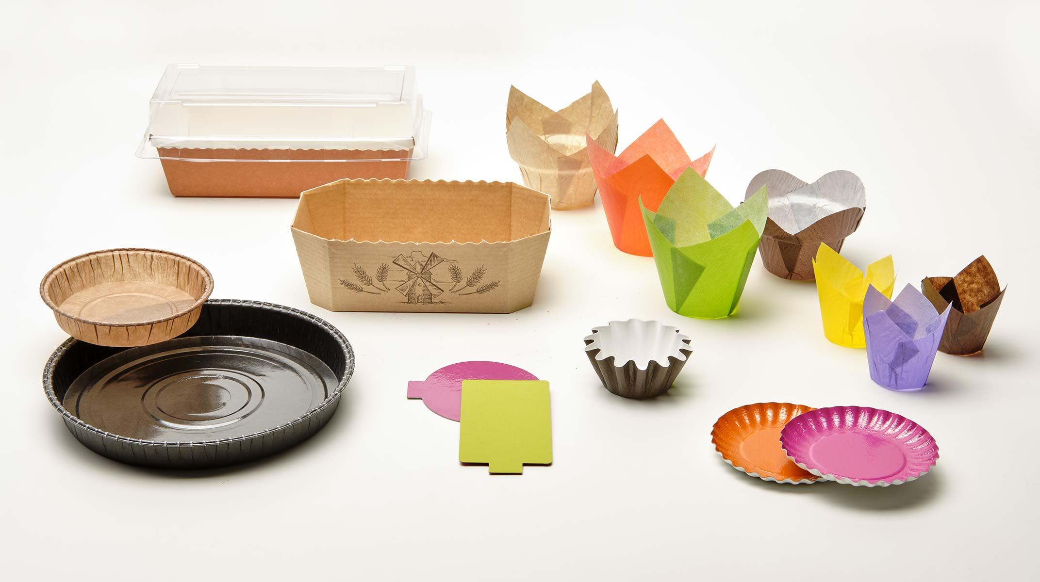 Paper Tech paper baking moulds