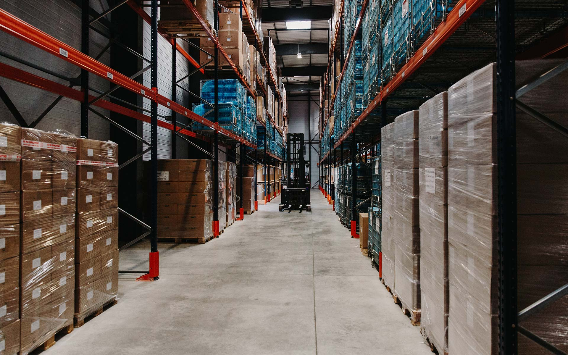 Techno Papier production stocking facilities