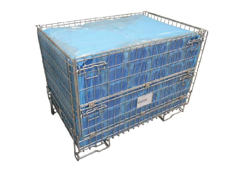 Techno Papier metal container
