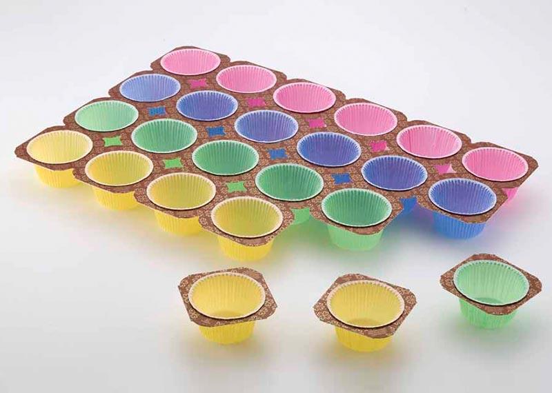 Techno Papier muffin baking trays