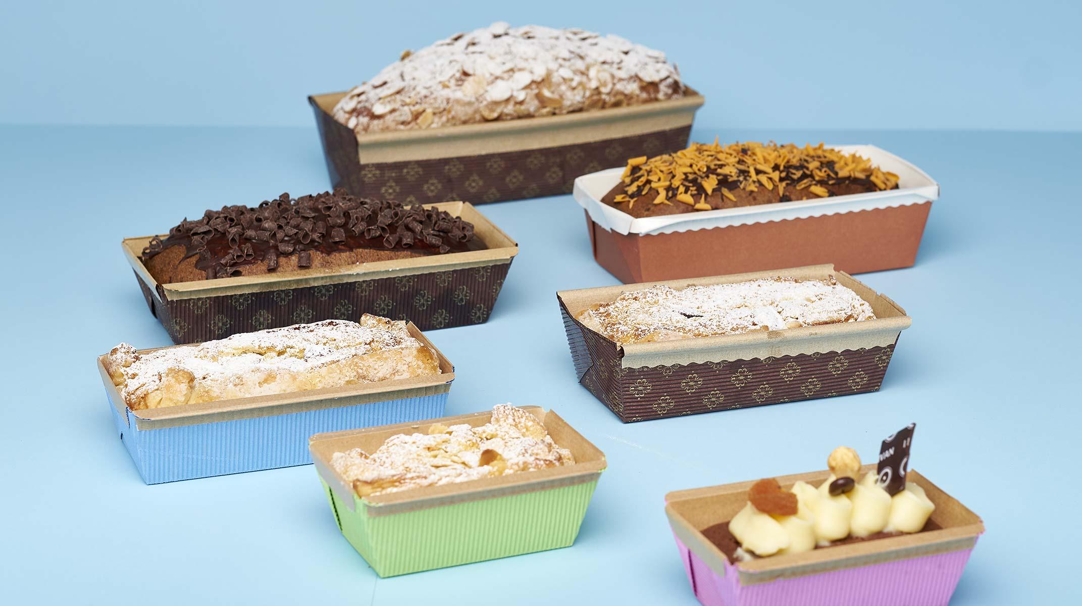 Techno Papier plum cake molds