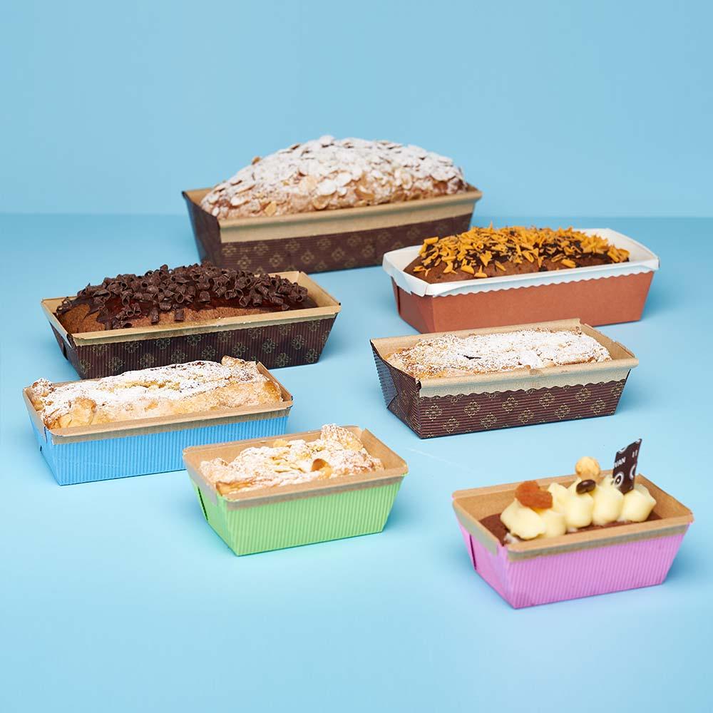 Novaservice plum cake molds