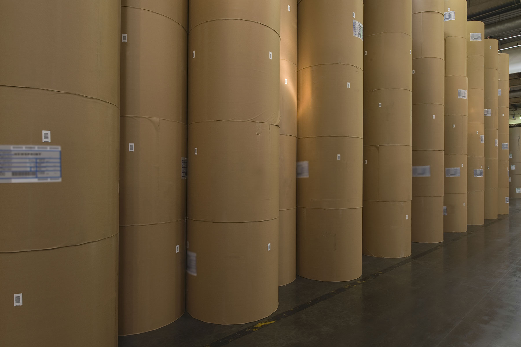 Neupack stocking facilities