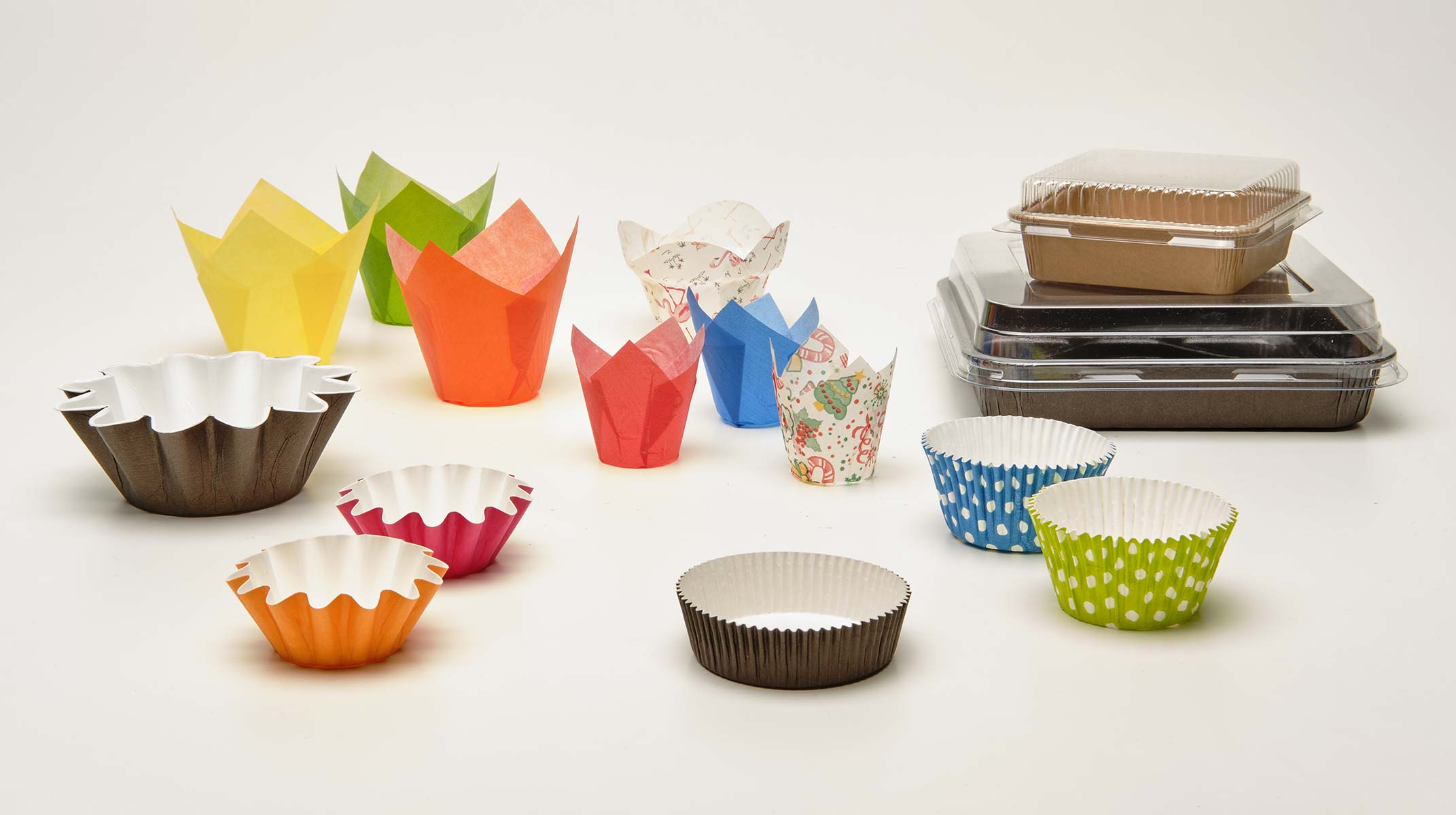 Neupack paper and cardboard products for the food industry